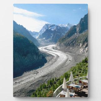 Mer de Glace - Chamonix France Display Plaque