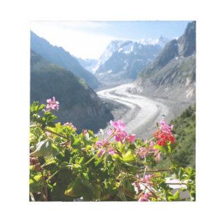 Mer de Glace - Chamonix France Note Pads
