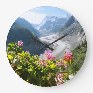 Mer de Glace - Chamonix France Wallclock