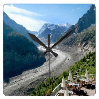 Mer de Glace - Chamonix France Wallclocks