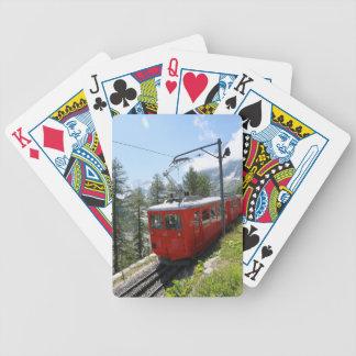 Mer de Glace - Chamonix Francia Baraja Cartas De Poker