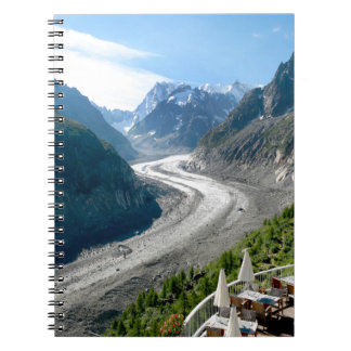 Mer de Glace - Chamonix Francia Cuaderno