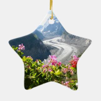 Mer de Glace - Chamonix Francia Ornamento De Reyes Magos