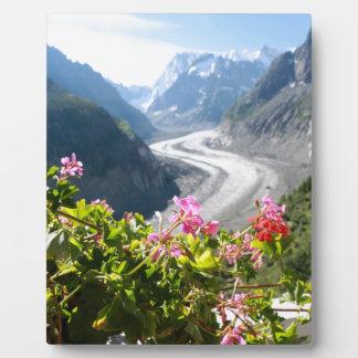 Mer de Glace - Chamonix Francia Placa De Plastico