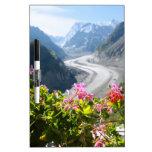 Mer de Glace - Chamonix Francia Tablero Blanco