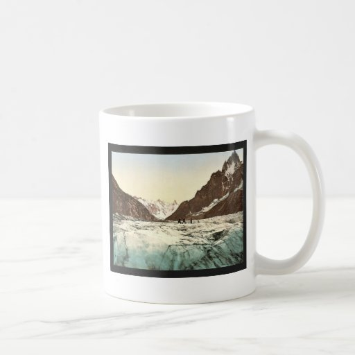 Mer de Glace, Mont Blanc, Chamonix Valley, France Classic White Coffee Mug
