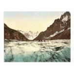 Mer de Glace, Mont Blanc, valle de Chamonix, Franc Tarjetas Postales