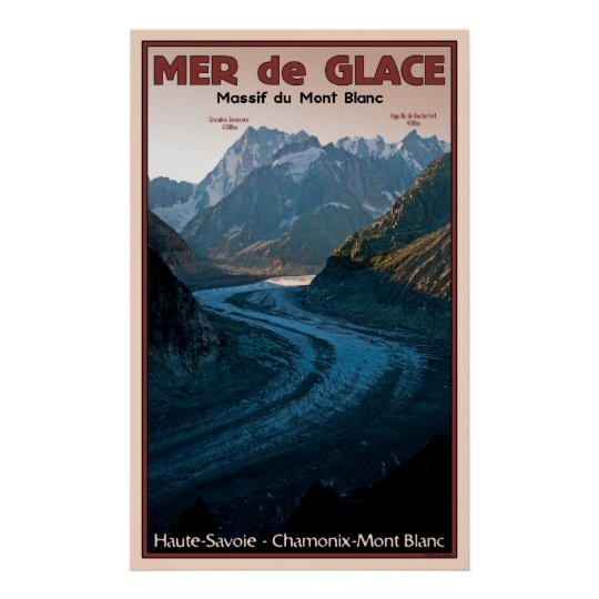 Mer de Glace (Sea of Ice) Poster