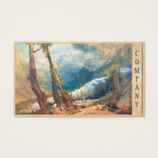 Mer de Glace, the Valley of Chamouni, Switzerland Business Card