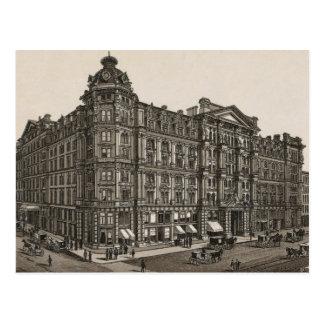 MER de pal House, Chicago (c. 1880) Tarjeta Postal