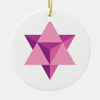Mer-Ka-Ba Ceramic Ornament
