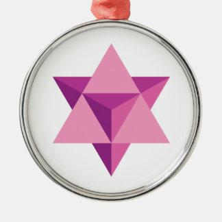 Mer-Ka-Ba Metal Ornament