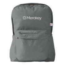 Merakey Logo Backpack (American Apparel)