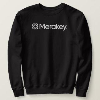 Merakey Logo Black Sweatshirt