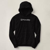 Merakey Logo Black Women's Hoodie