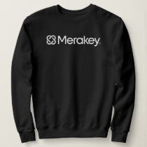Merakey Logo Black Women's Sweatshirt