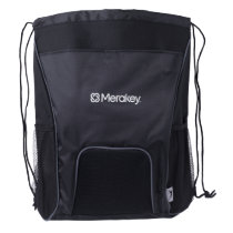Merakey Logo Drawstring Backpack