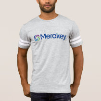 Merakey Logo Football T-Shirt