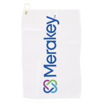 Merakey Logo Golf Towel