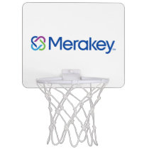Merakey Logo Mini Basketball Net Mini Basketball Backboard