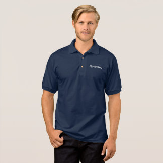 Merakey Logo Navy Polo Shirt