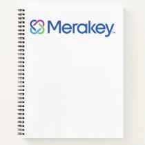 Merakey Logo Spiral Notebook