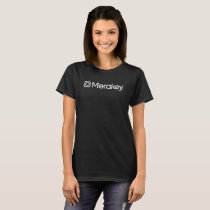 Merakey Logo Women's Black T-Shirt