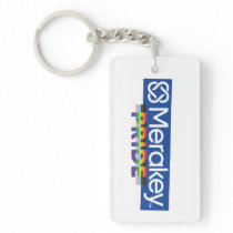Merakey PRIDE Rectangle Keychain