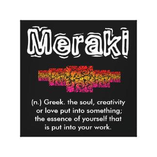 Meraki - Creative Artist Wall Art