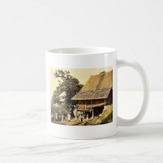Meran, la casa de los campesinos, magn del Tyrol,  Taza De Café