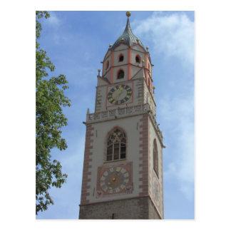 Merano Bell Tower, Sud Tirol Postcard