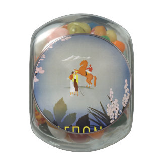 Merano Glass Candy Jars