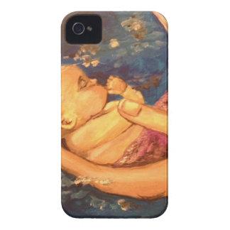Merbaby at Night iPhone 4 Case