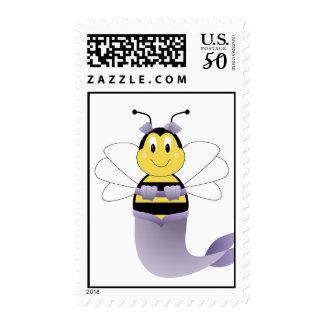 MerBee Bumble Bee Postage Stamp