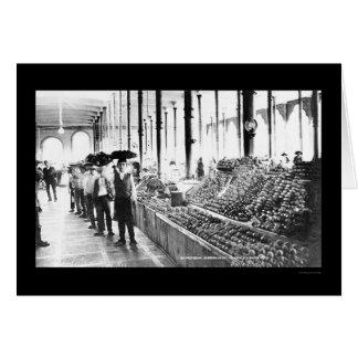 Mercado 1904 de la comida de Zacatecas, México Tarjeta De Felicitación