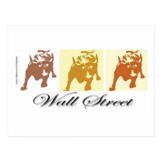Mercado alcista de Wall Street Postales