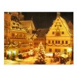 Mercado Alemania del navidad Postal