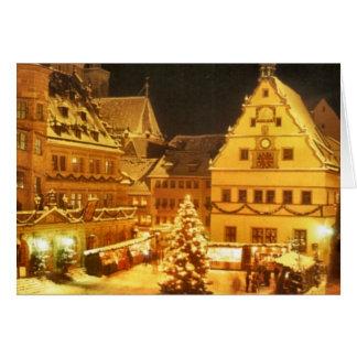 Mercado Alemania del navidad Tarjeta De Felicitación