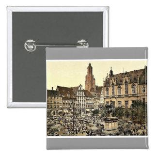 Mercado, Breslau, Silesia, Alemania (es decir, Wro Pins