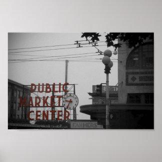 mercado callejero del lucio póster