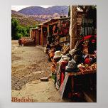 Mercado callejero en Jujuy - la Argentina Póster