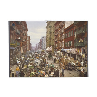Mercado callejero New York City 1900 de la mora iPad Mini Fundas