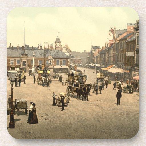 Mercado, Carlisle, Cumbria, Inglaterra Posavaso