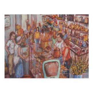 Mercado central en postal del PA de la ciudad de L
