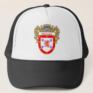 Mercado Coat of Arms/Family Crest Trucker Hat