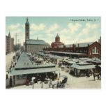 Mercado de Chippewa del vintage, búfalo, Nueva Yor Postales