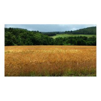 Mercado de grano tarjetas de visita