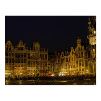 Mercado de Grote, Bruselas, Bélgica Tarjetas Postales