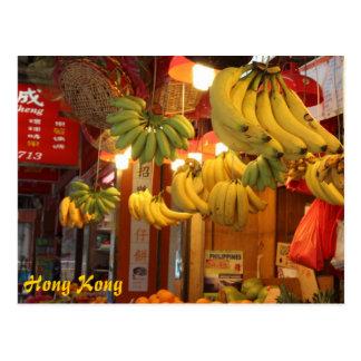 Mercado de Hong Kong Tarjetas Postales
