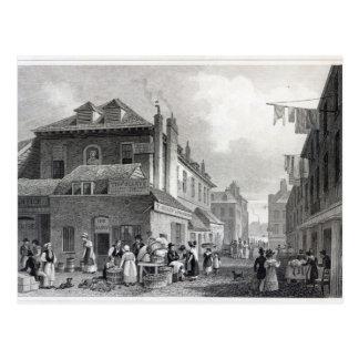 Mercado de Hungerford, filamento, Thomas grabado Tarjetas Postales
